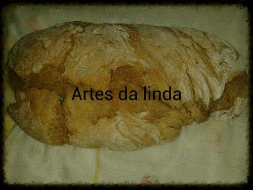 Pão feito por mim