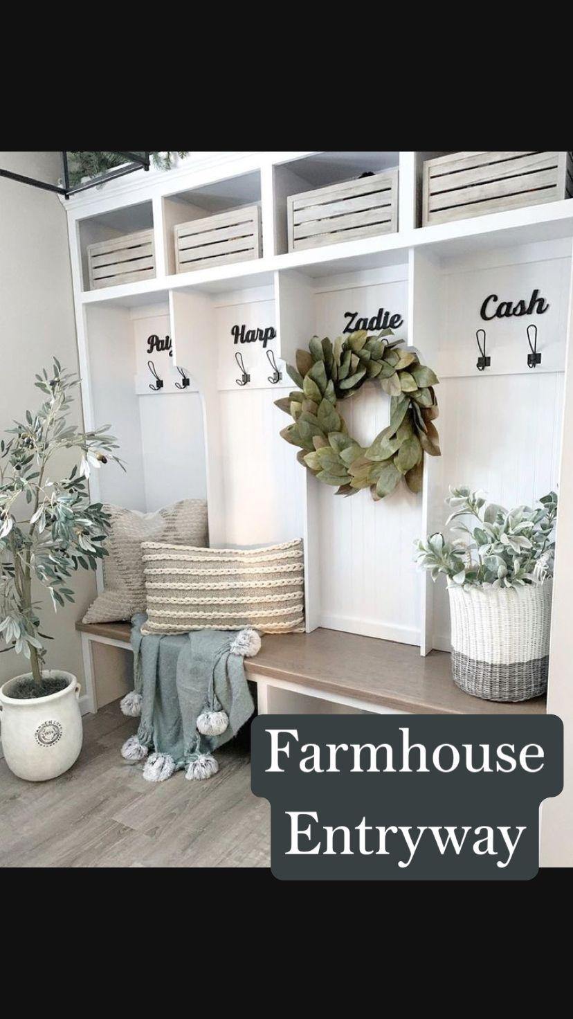 Farmhouse  Entryway