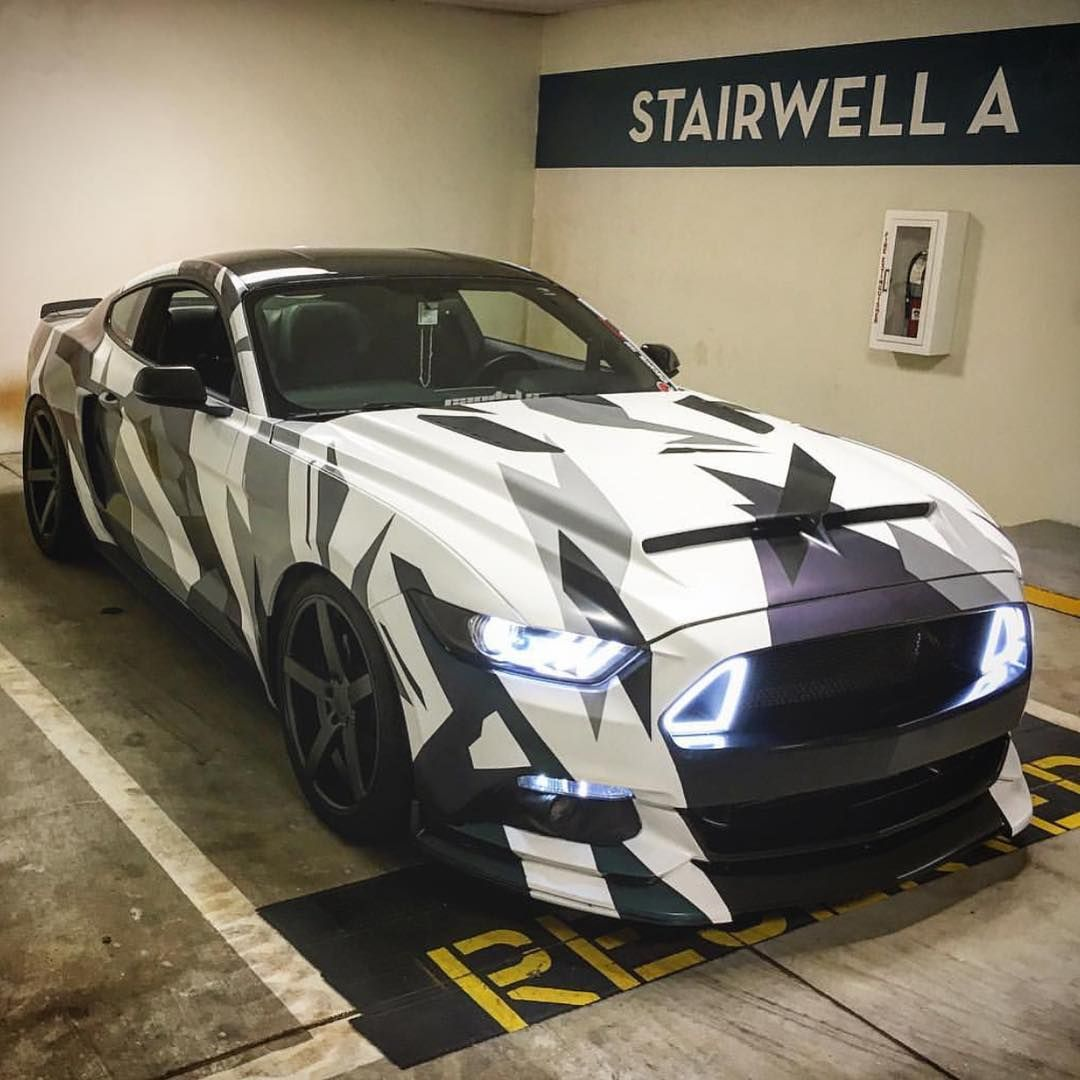 2017 Ford Mustang Car Rtr Audi Camouflage Tire Supercar Follow Extremegentleman For More Pics Like This