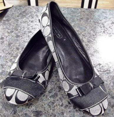 Nice Coach Ballet Flats, Size 7, $40. Where? Closet Revival, Plano!