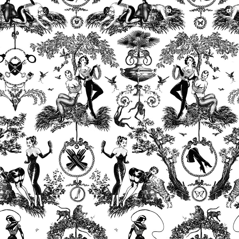 Fetish al Fresco Toile Kitchen Linens | Pinterest | Fresco, Toile ...
