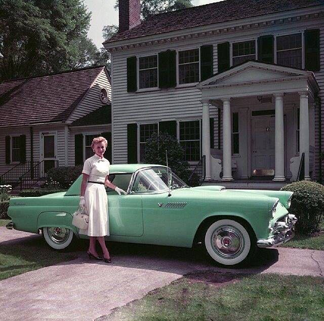 Fifty Years Too Late Ford Ford Thunderbird Retro Cars