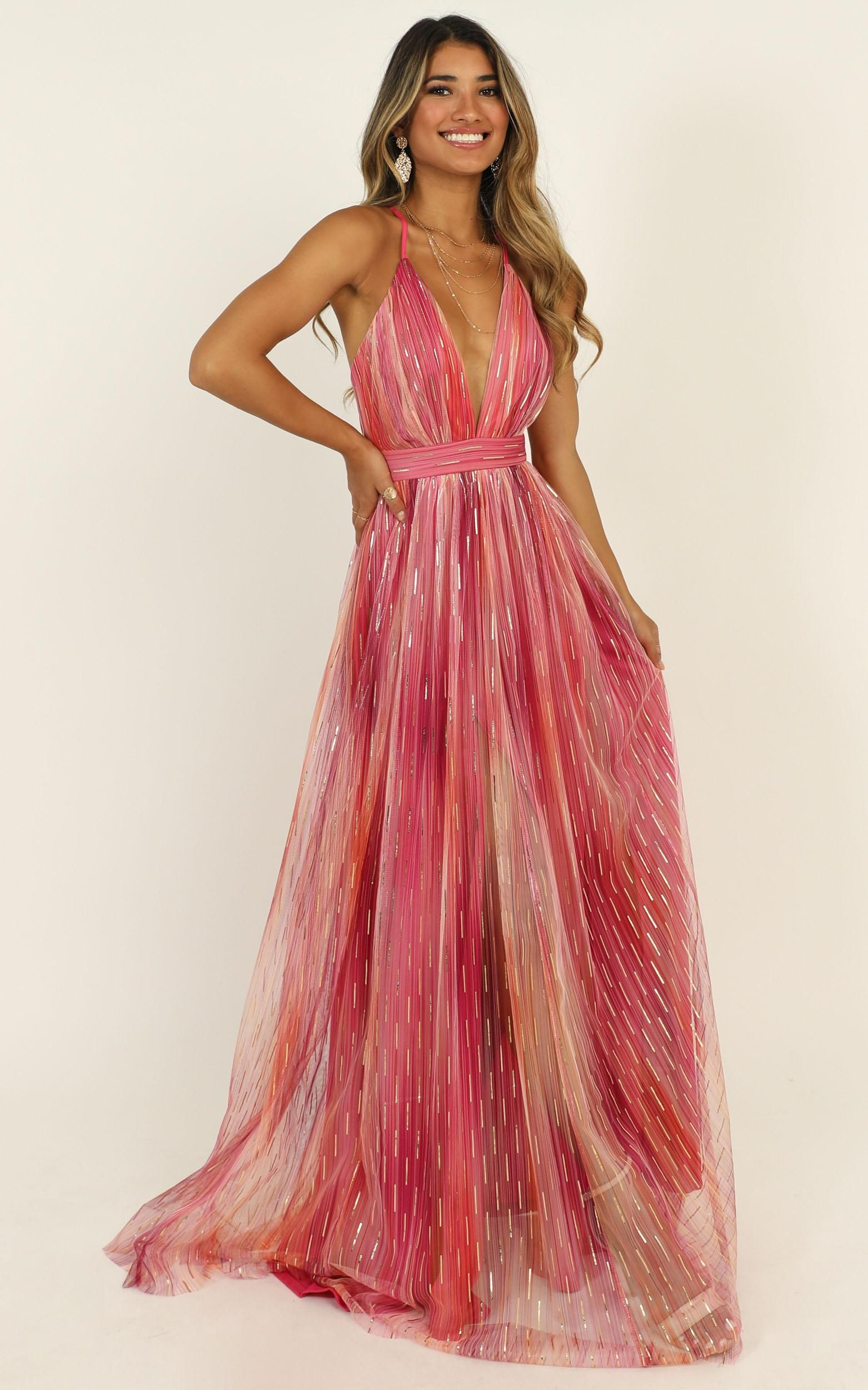 Dance All Night Maxi Dress In Fuschia Showpo Maxi Dress Dresses Fashion [ 2500 x 1562 Pixel ]