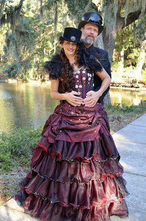 Steampunk Wedding Dress Available in many by WeddingDressFantasy, $925.00     Keywords: #steampunkweddings #jevelweddingplanning Follow Us: www.jevelweddingplanning.com  www.facebook.com/jevelweddingplanning/