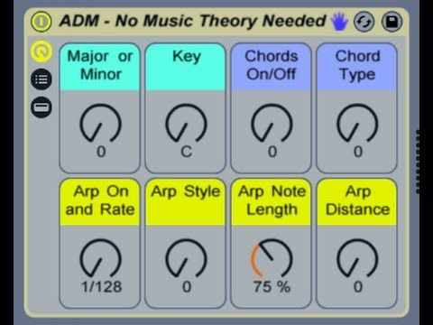 How To Make Music Without Music Theory Free Ableton Live Rack Afrodjmac Music Theory Ableton Music Tutorials