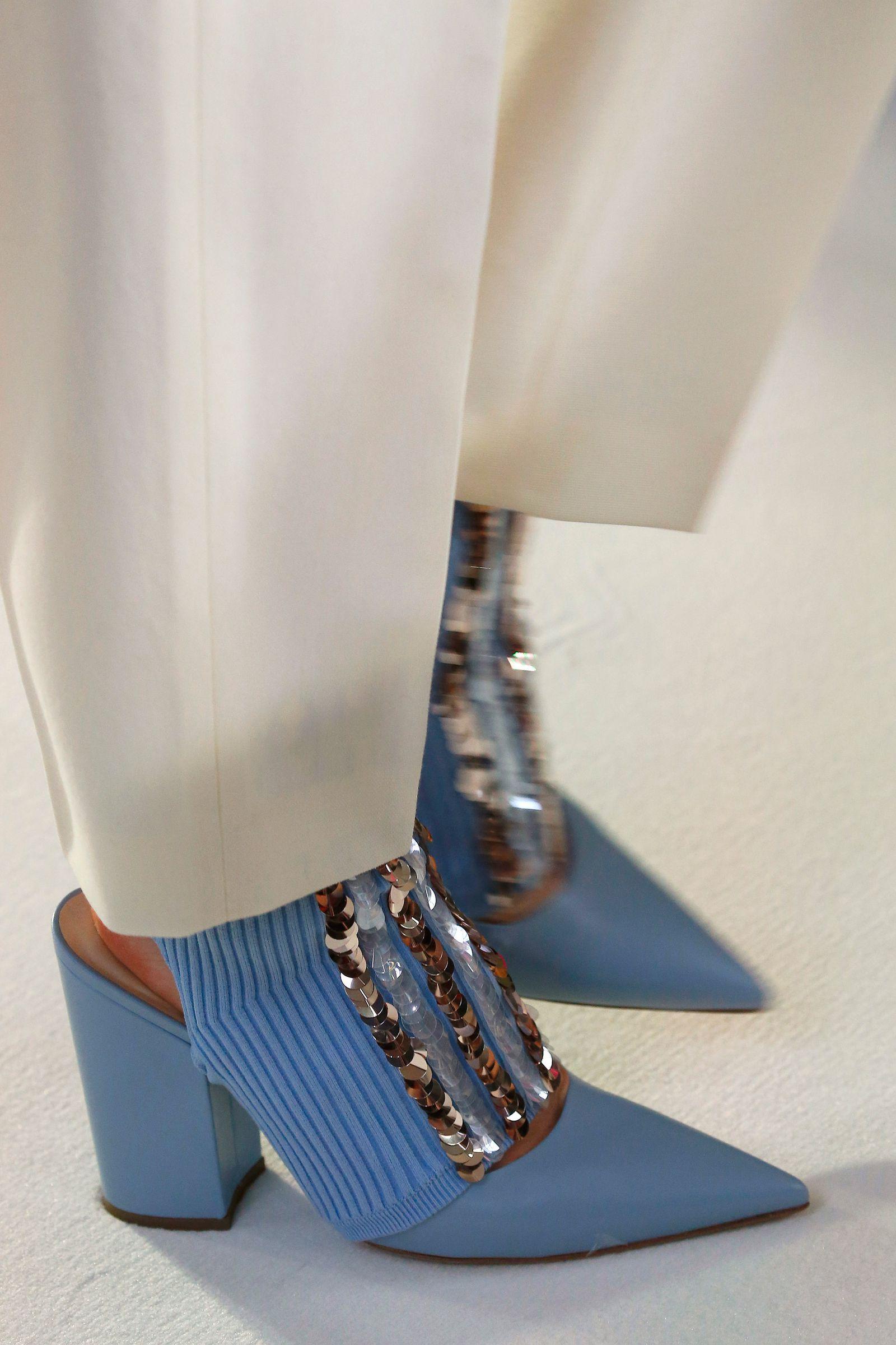 57d953da030 Delpozo- HarpersBAZAARUK Bags 2018, Delpozo, Blue Fashion, Fashion Shoes,  Cool Boots