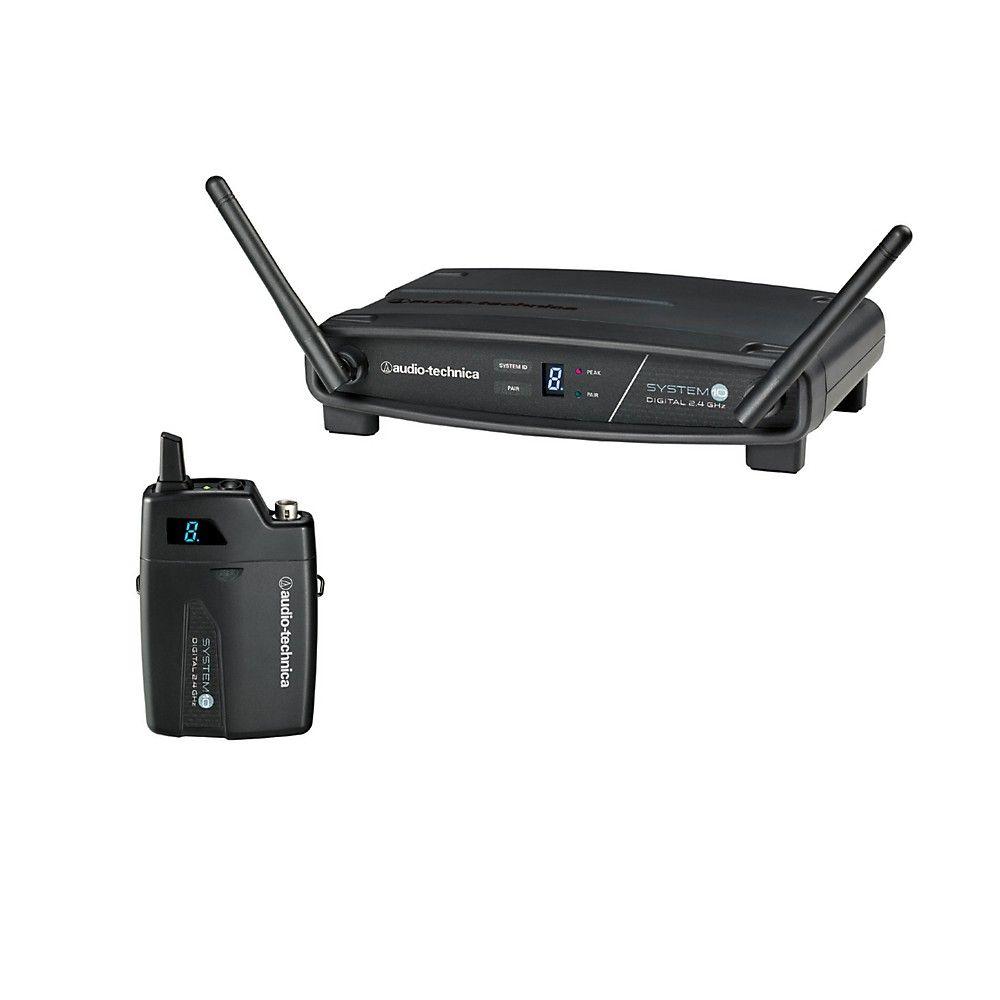 Audio Technica System 10 Atw 1101 2 4ghz Digital Wireless Bodypack System
