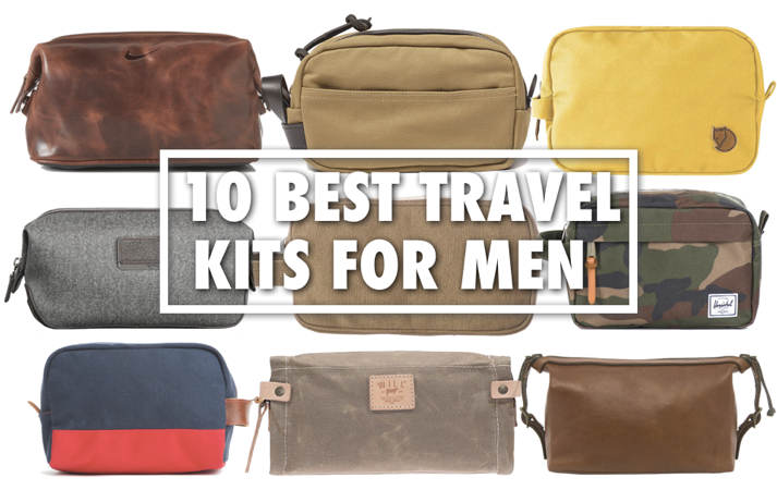 10 Best Travel Kits For Men With