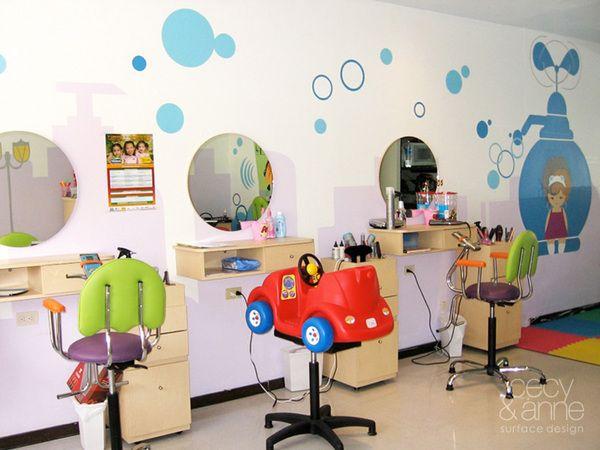 Gorgeous Hairdresser Salon for Kids