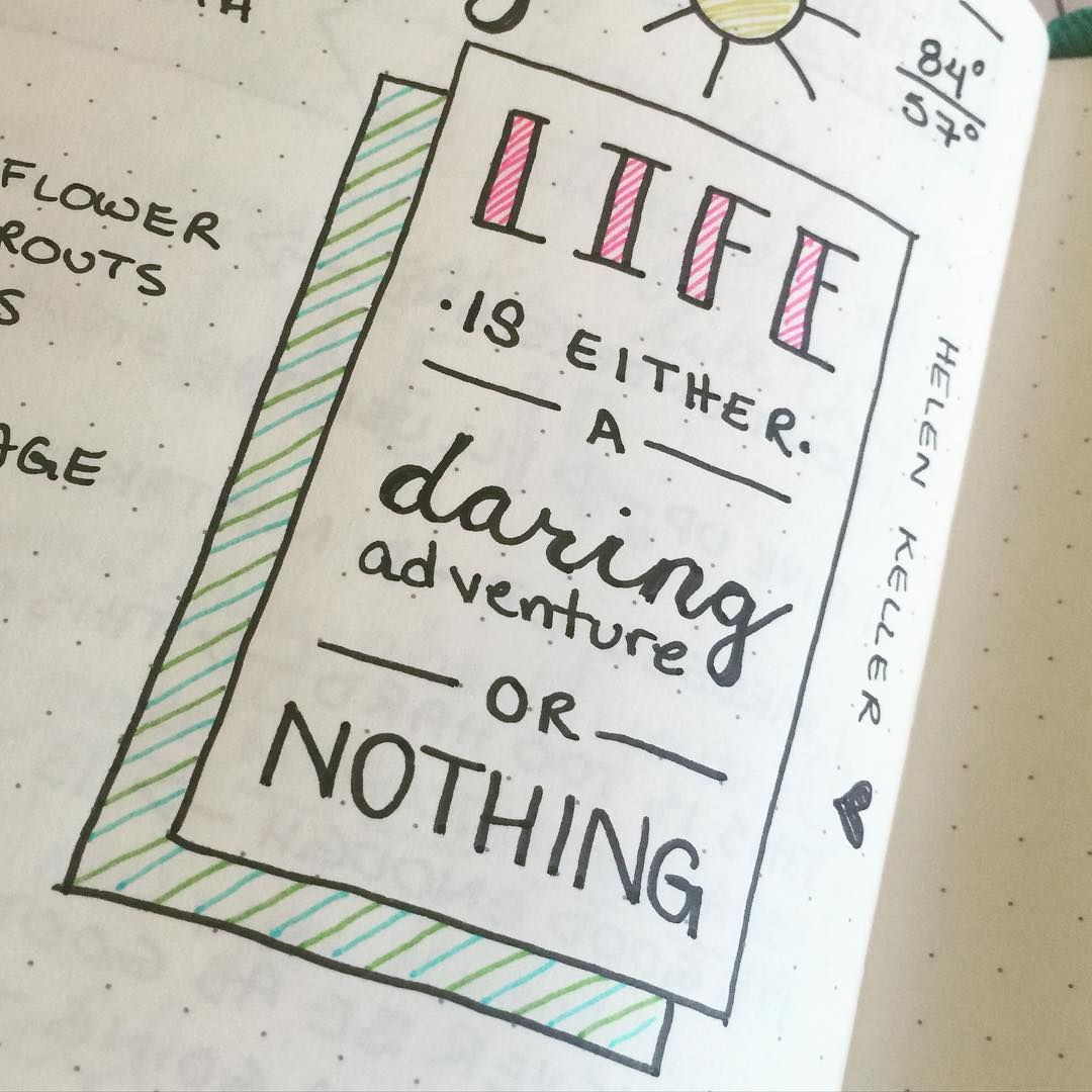 Quotes Journal Bullet Journal Bring Mindfulness Into Your Daily Life  Bullet