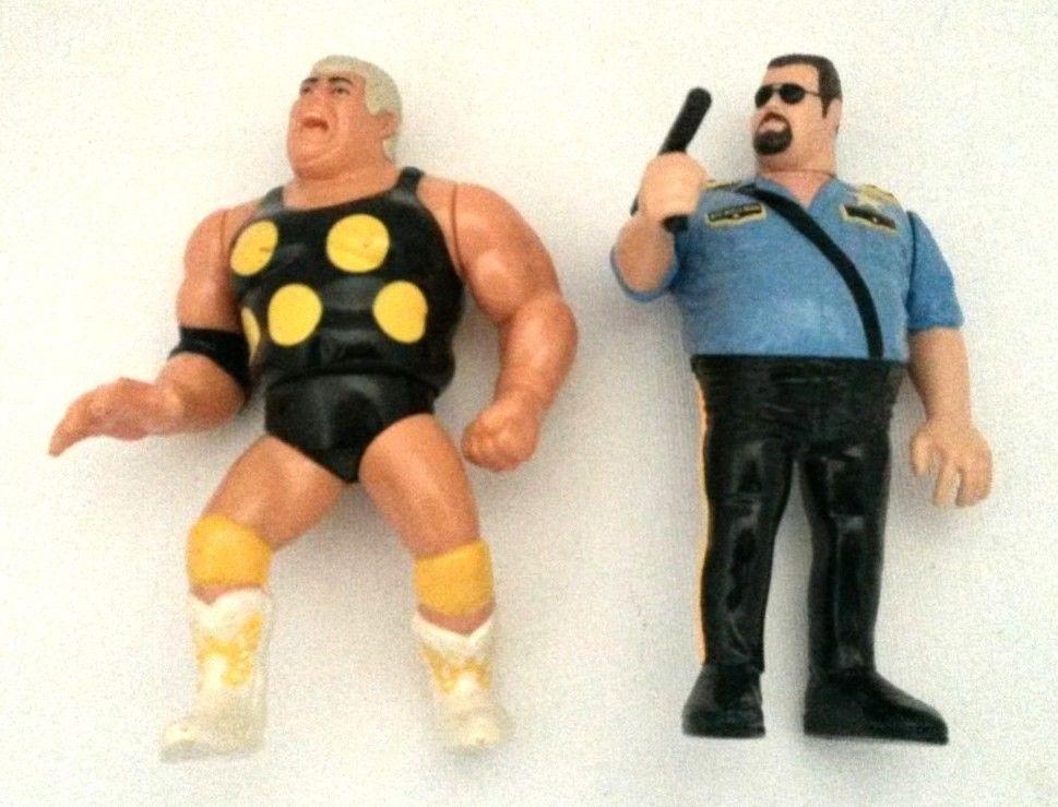 Wwf Wwe Dusty Rhodes Big Boss Man Titan Sports Hasbro 1991