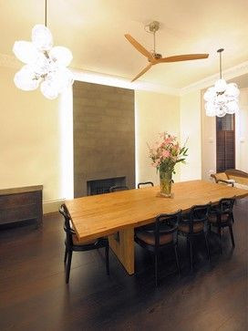 Modern Internal Shutters Dining Design Ideas, Pictures, Remodel and Decor