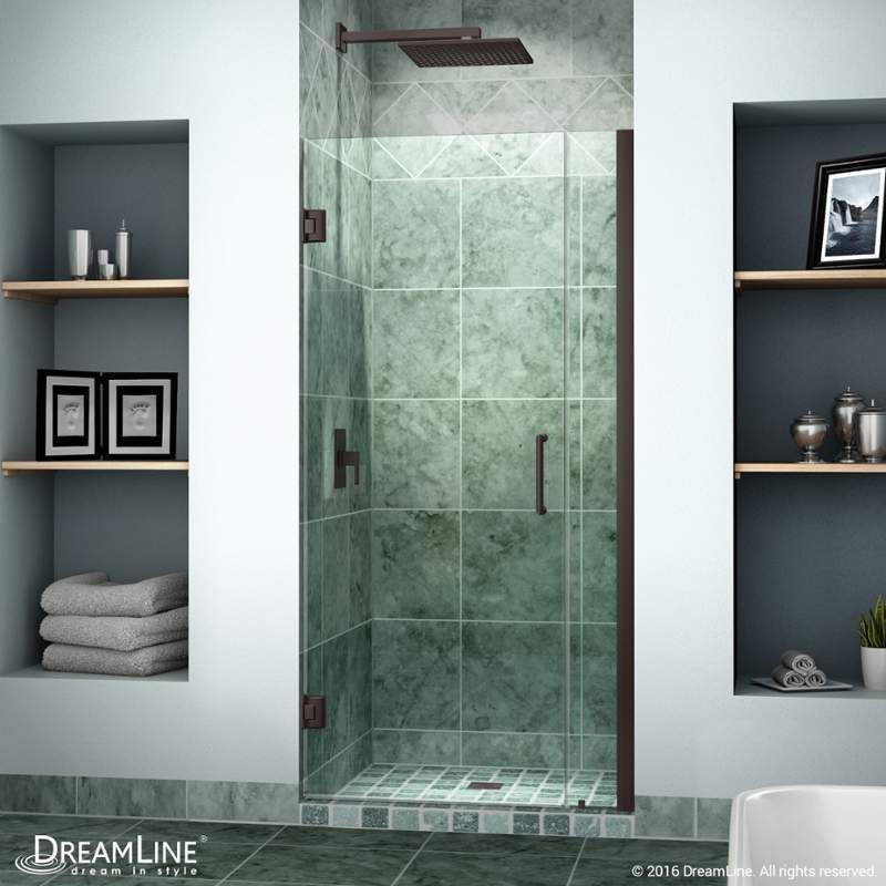 Dreamline Shdr 20347210 Unidoor 72 High X 35 Wide Hinged Frameless