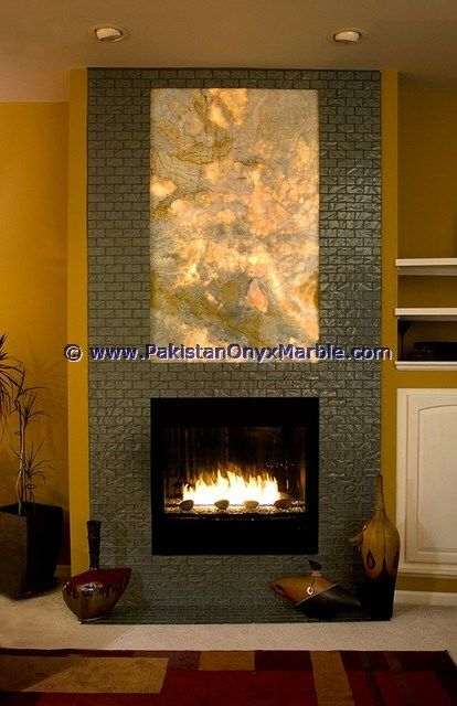 Fireplace Walls backlit onyx fireplaces backlighting onyx fireplaces surrondings