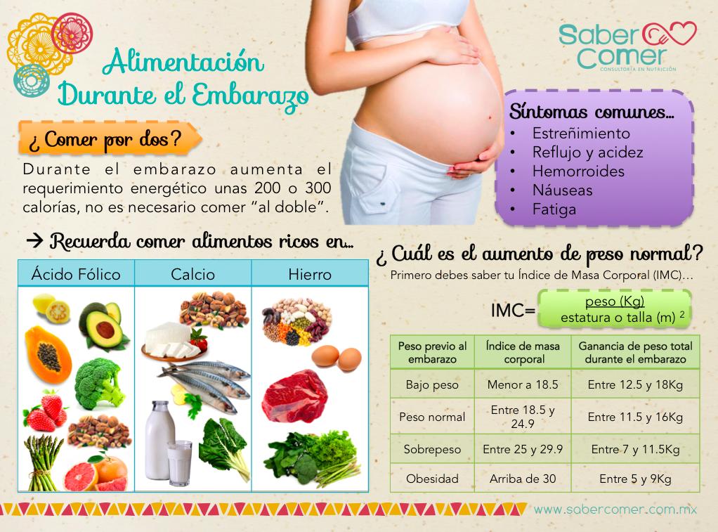 alimentacion saludable en el embarazo