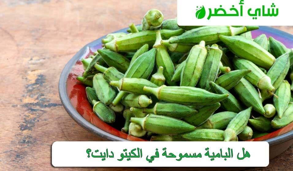 هل البامية مسموحة في الكيتو دايت Okra Vegetables Food