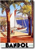 Cote D'azur, Poster by Affiches