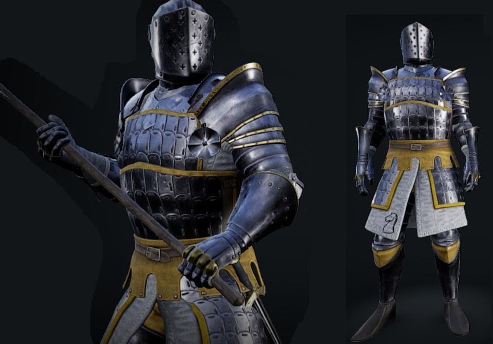 Mordhau Character Medieval Fantasy Characters Fantasy Armor Roman Armor