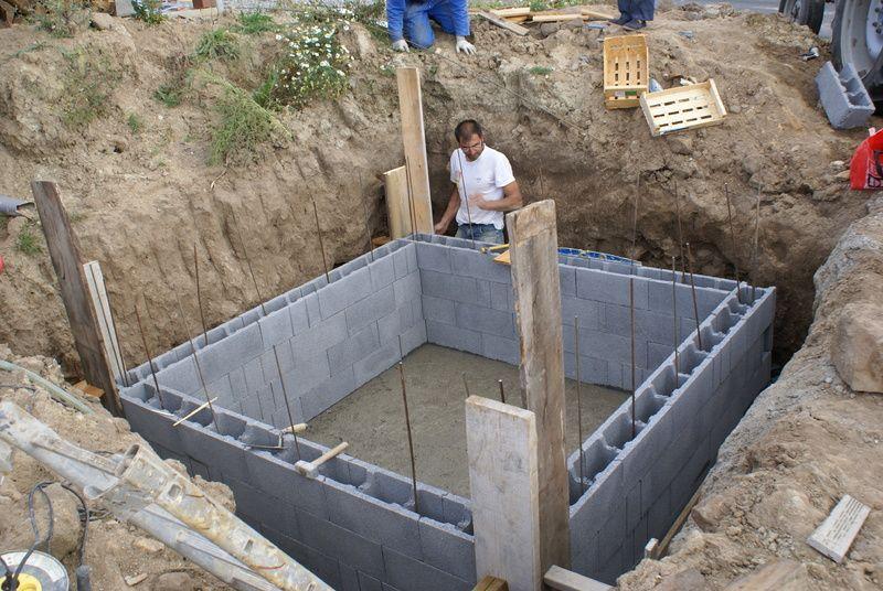 Image result for cuve eau pluie enterré beton house Pinterest