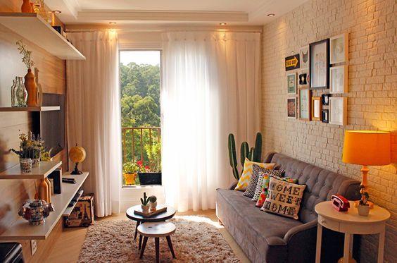 decora o de sala de estar residential architecture