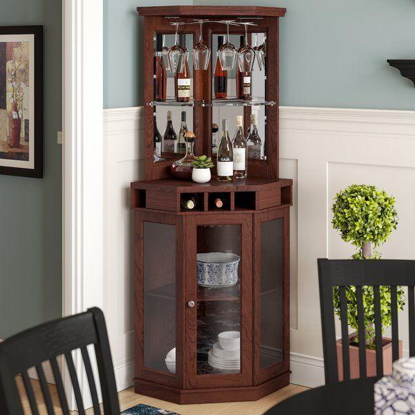 Ashfield Bar With Wine Storage Diy Home Bar Dining Room Corner