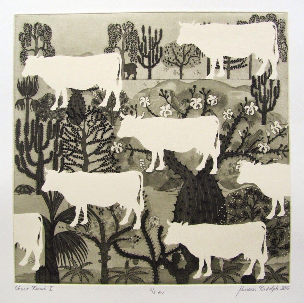 Etching by Miriam Rudolph