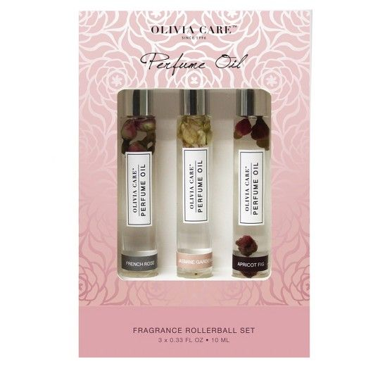 Olivia Care's feminine, floral Perfume Oil Roll-Ons will