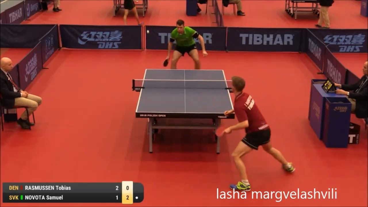 tobias rasmussen vs samuel novota polish open 2018 table tennis rh pinterest co uk