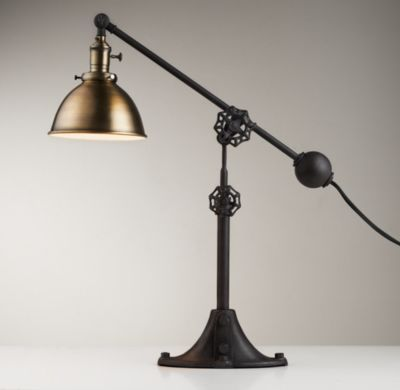 Era Task Lamp Antique Br Restoration Hardware Baby Child