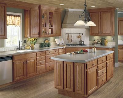 Nice Unfinished Oak Cabinets, RTA, Stain Or Paint Any Color For The Kitchen Of  Your