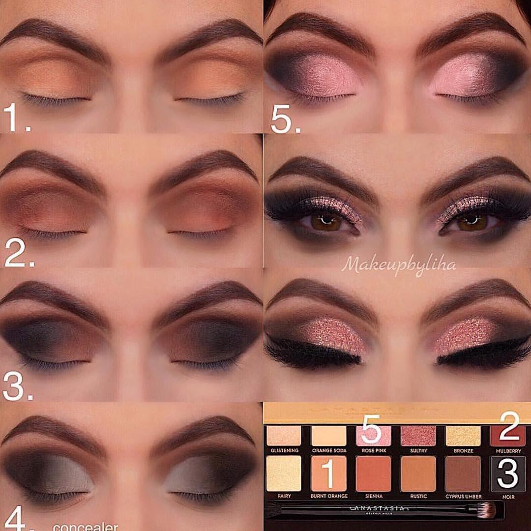 makeupbyliha eyeshadow tutorial palette used