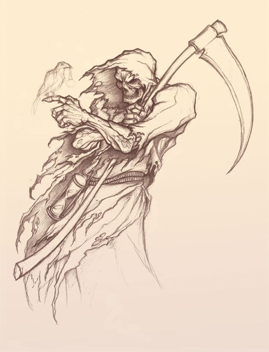 Reaper By Rook Over Here On Deviantart Cool Stuff Pinterest
