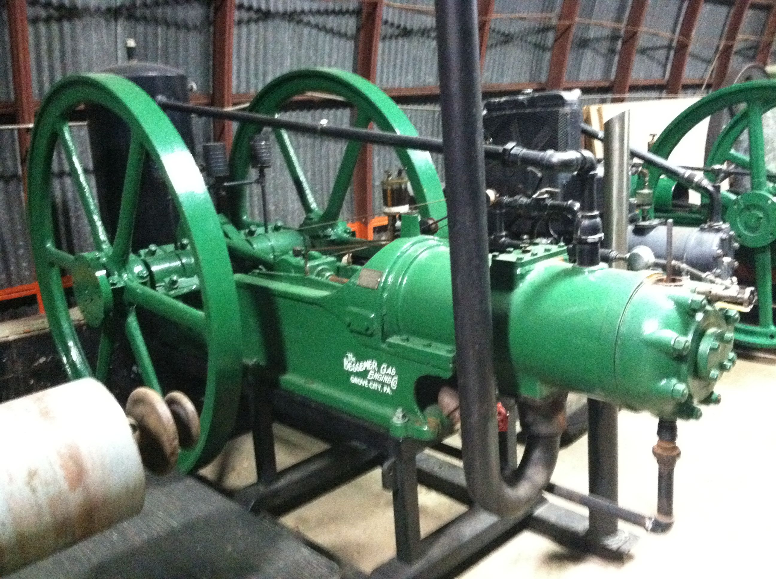 Here is another Bessemer engine rates at 15hp this engine uses