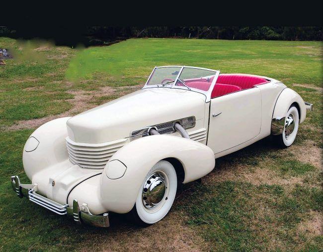 1937 Cord 810 Phaeton.