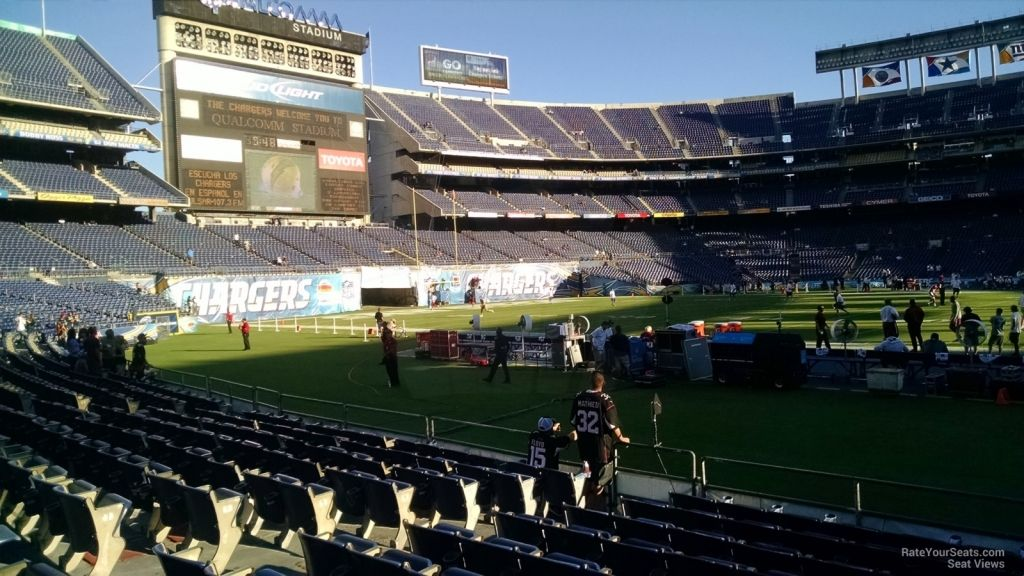 Amazing Qualcomm Stadium Virtual Seating Chart