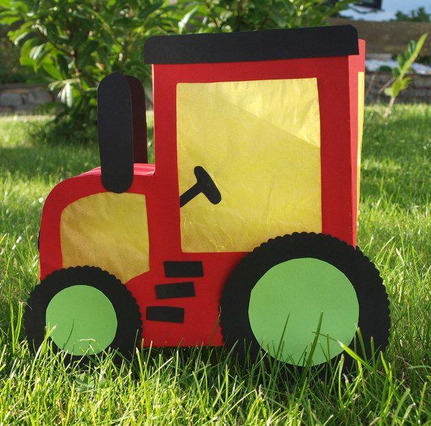 Weiteres Traktor Laterne Ein Designerstück Von Tibi Zwerge Bei