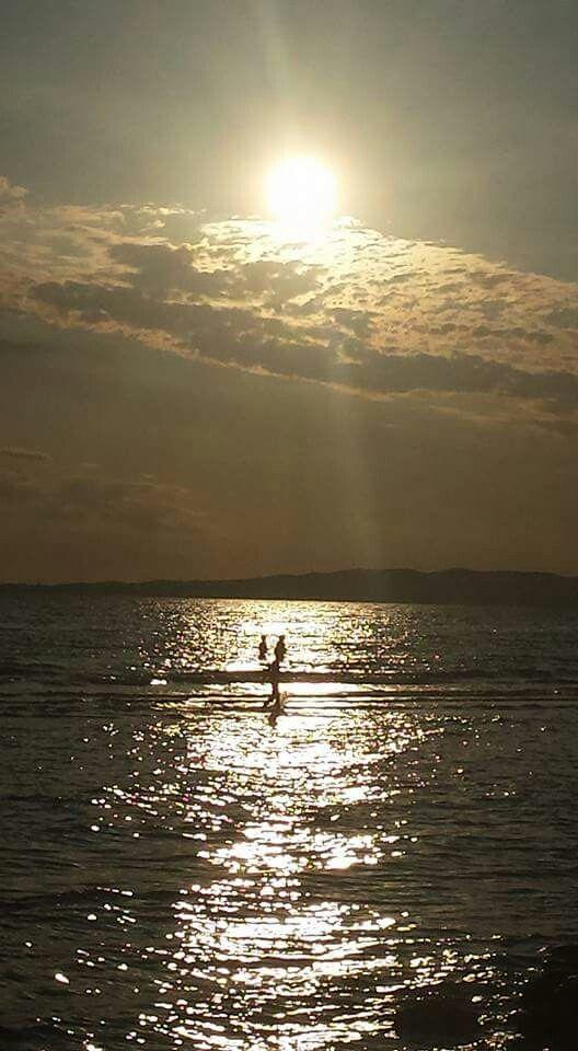 Camminando verso il tramonto...