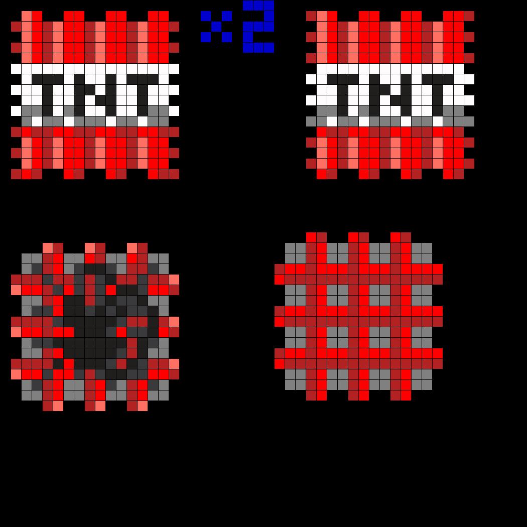 minecraft fuse box best wiring diagram 3d minecraft tnt perler bead pattern mi joseph minecraft beads [ 1050 x 1050 Pixel ]