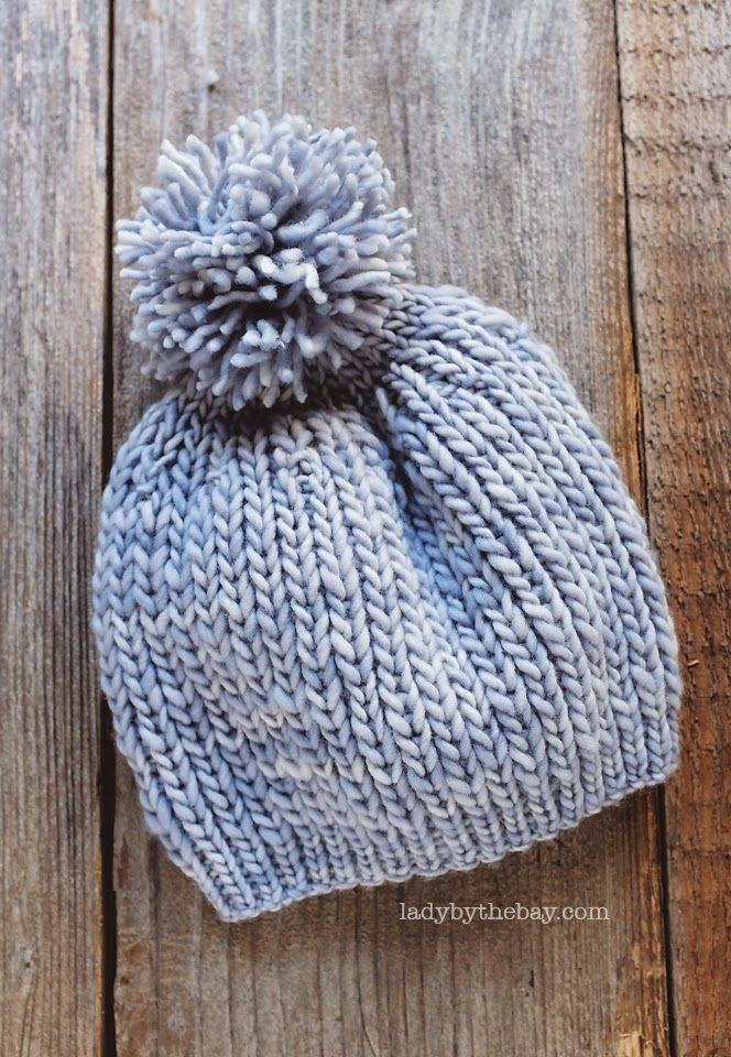 Anthropologie Inspired Knitted Hat Pattern | Pinterest | Gorros ...