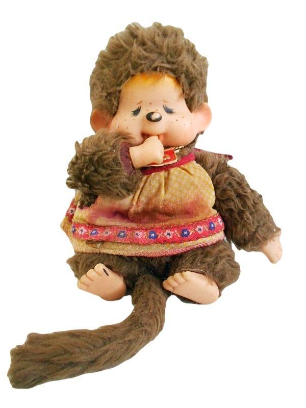 Boneca Antiga Macaca Tika Estrela Déc. 80 - R$ 49,90 no MercadoLivre