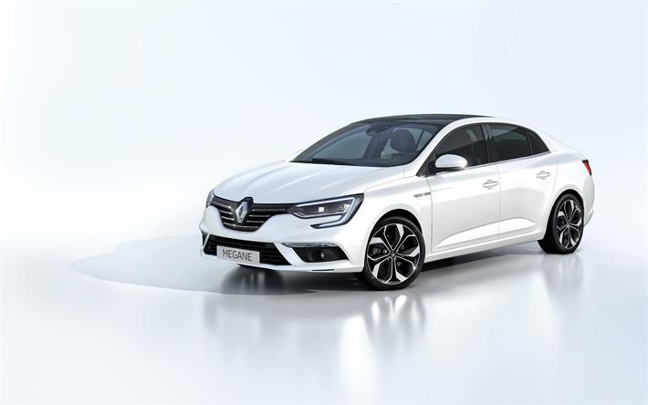 Descargar Fondos De Pantalla Renault Megane 2018 Sedan El Nuevo
