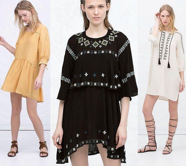 Vestidos de fiesta cortos zara 2015
