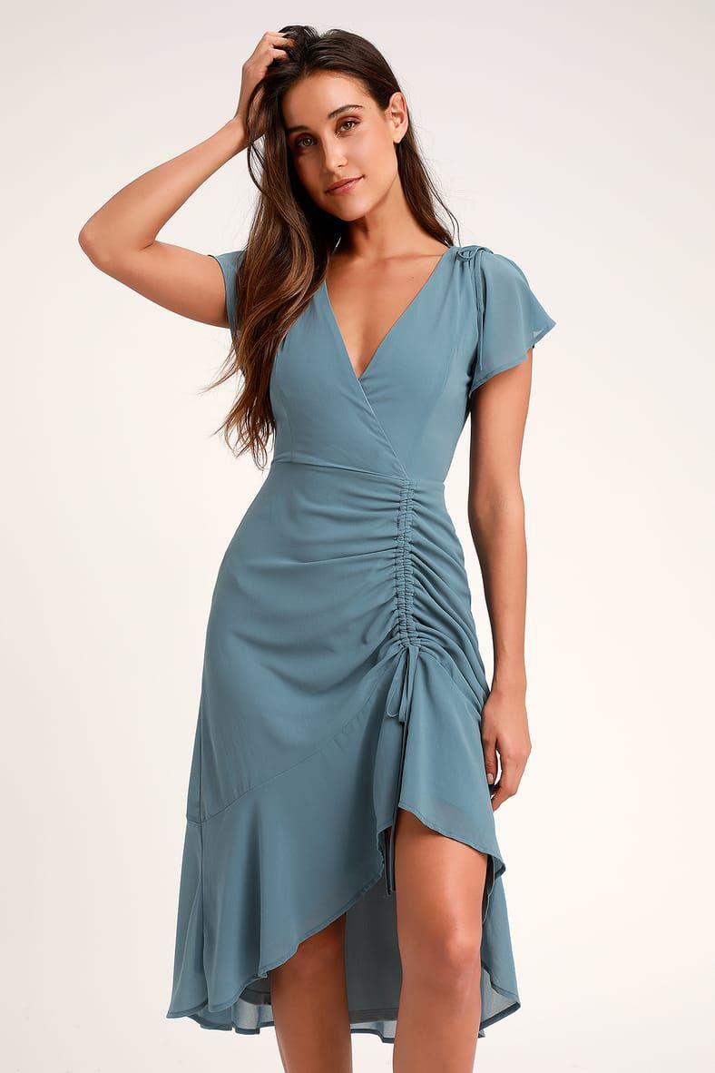 43+ High low midi dress info