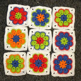 Turn The African Flower Hexagon Into A Granny Square By Blij Dat Ik