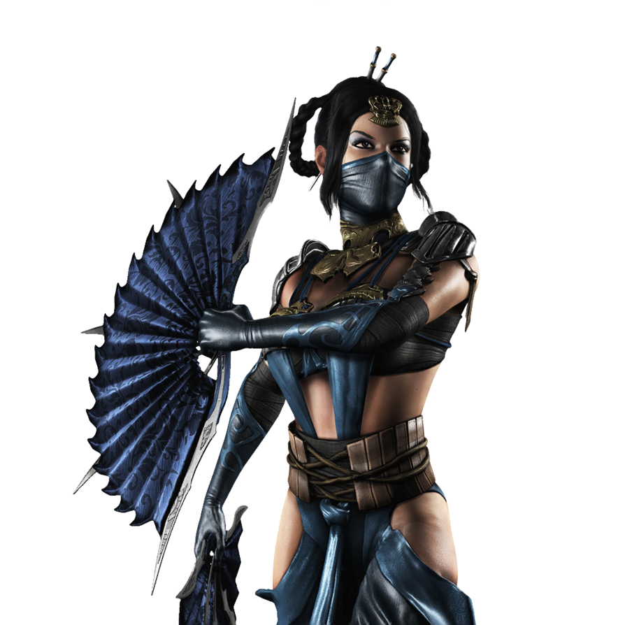 Mortal Kombat X (iOS) - Kitana [Render] by WyRuZzaH on