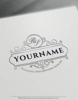 Create Vintage Logo Designs Using The Best Free Vintage Logo Maker In 2020 Stylish Alphabets Vintage Logo Maker Vintage Logo Design