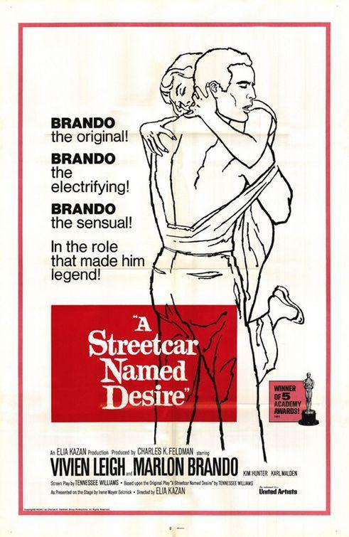 #2 A streetcar named desire Marlon Brando movie poster print