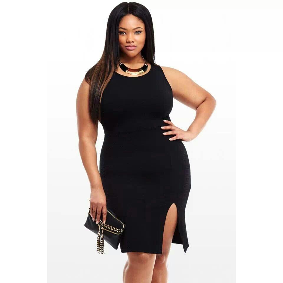 Little black dress chicplus fashion pinterest black and fashion