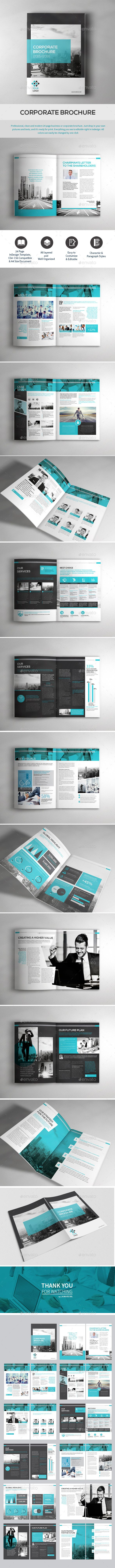 Company Brochure Template InDesign INDD. Download here: http ...