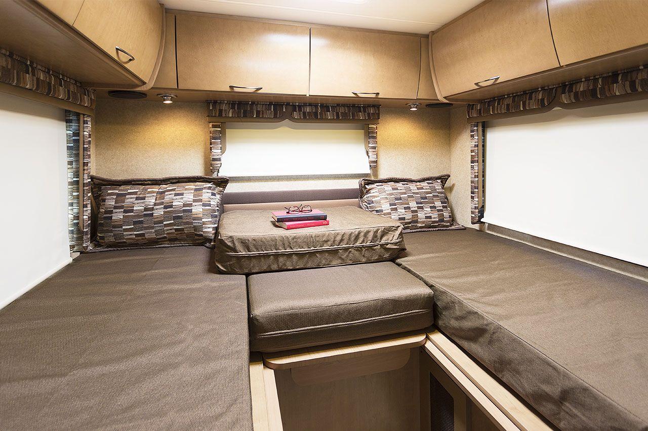 Class C Motorhome Rear Corner Bed Interior Google Search